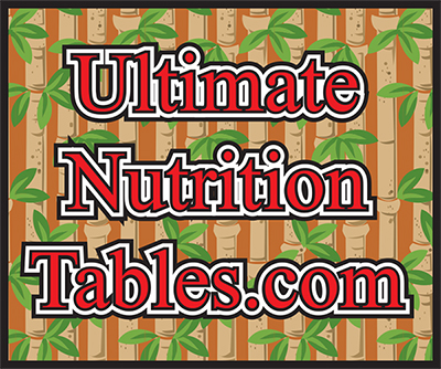 UltimateNutritionTables.com logo